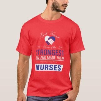 Stärkste Männer sind die Krankenschwestern, die T T-Shirt
