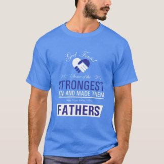 Stärkste Männer sind die Väter, die T - Shirt