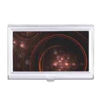 Starlight-abstrakte Kunst Visitenkarten Etui