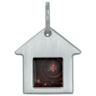 Starlight-abstraktes Kunst-Haus Tiermarke