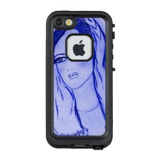 Starlight Mary - Blau - LifeProof FRÄ' iPhone SE/5/5s Hülle