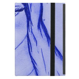 Starlight Mary - Blau - trocknen Sie Bürste iPad Mini Hülle