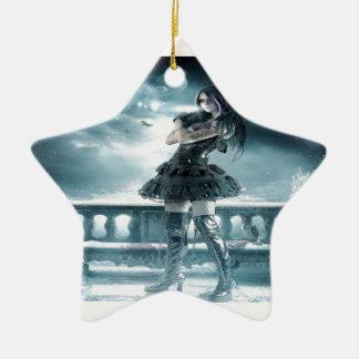 Starlight-Prinzessin Keramik Stern-Ornament