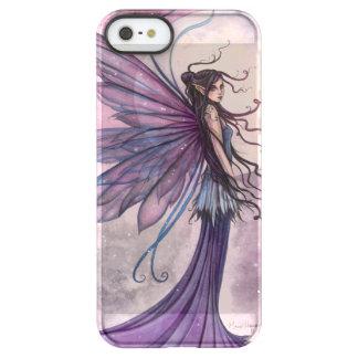 Starlit Amethyst lila feenhafte Fantasie-Kunst Permafrost® iPhone SE/5/5s Hülle