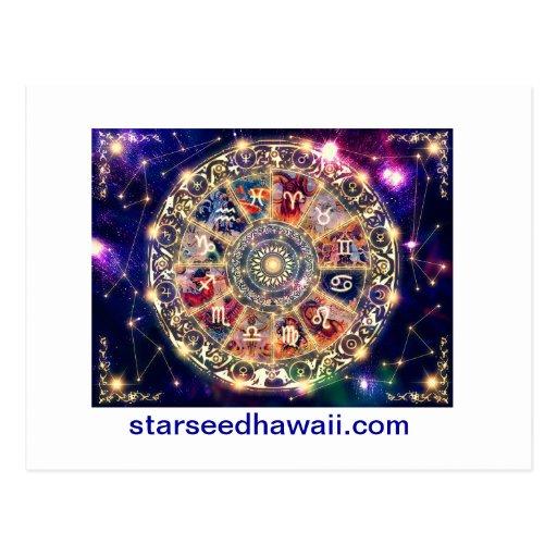 starmap, starseedhawaii.com postkarte