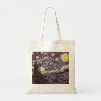 Starry Nacht durch Vincent van Gogh, Vintage feine Tragetasche
