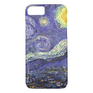 Starry Nacht Van Gogh, Vintage feine iPhone 8/7 Hülle
