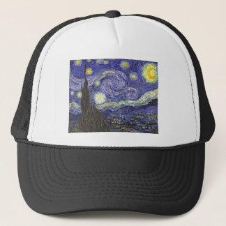 Starry Nacht Van Gogh, Vintage feine Truckerkappe