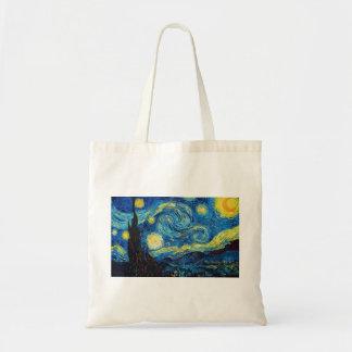 Starry NachtTaschen-Tasche Van Gogh Budget Stoffbeutel