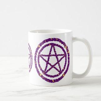 Starry Pentagramm Kaffeetasse