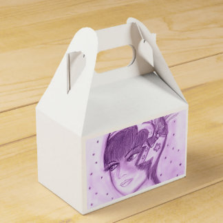 Starry Prallplatte - lila Geschenkschachtel