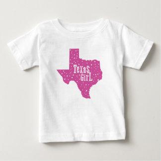 Starry Texas-Mädchen scherzt T - Shirt - Rosa