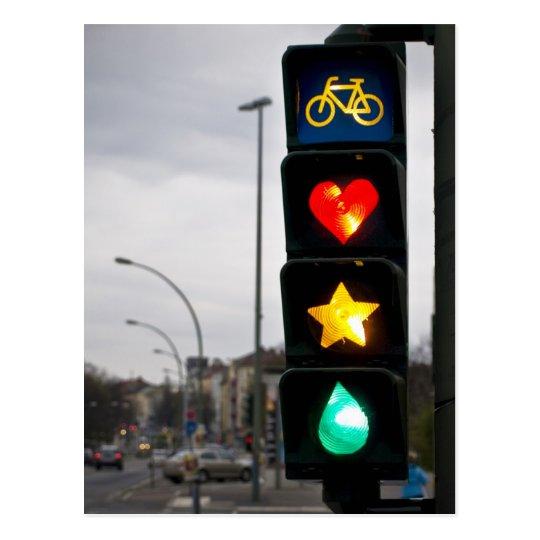 stars and lights postkarte