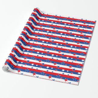 Stars'n'Stripes Geschenkpapier