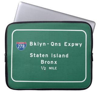 Staten Island Bronx zwischenstaatliches NYC New Laptopschutzhülle