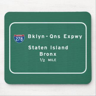 Staten Island Bronx zwischenstaatliches NYC New Mousepad