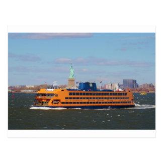 Staten Island-Fähre Postkarte
