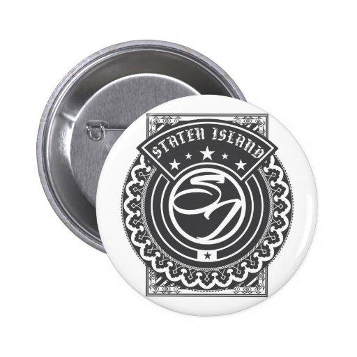 Staten Island-Logo Anstecknadelbuttons