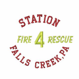 Station, 4, fällt Nebenfluss, PA, Feuer,