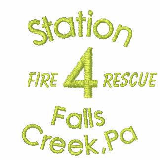 Station, 4, fällt Nebenfluss, PA, Feuer, Rettung-H Hoodie