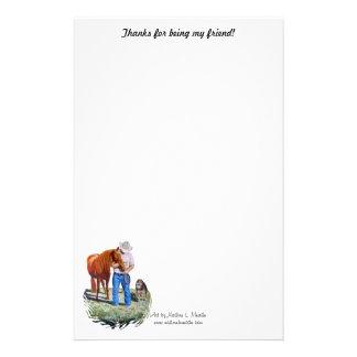 Stationär, Dank für Sein mein Freund! Briefpapier