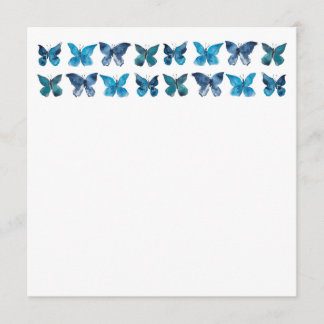 Stationary Butterfly Watercolor for Charity