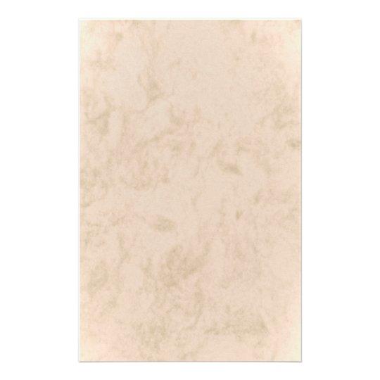stationery beige marbled briefpapier