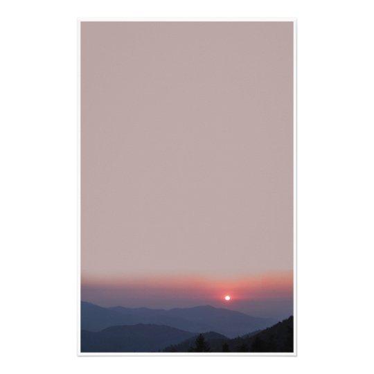 stationery sunset briefpapier