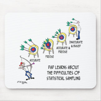 Statistik-Cartoon 9225 Mousepads