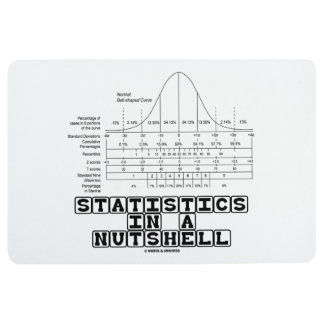Statistik-in kurzen Worten Notfall-Spickzettel Bodenmatte