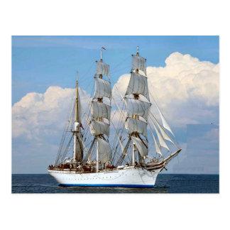Statsraad Lemkuhl, norwegisches hohes Schiff Postkarte