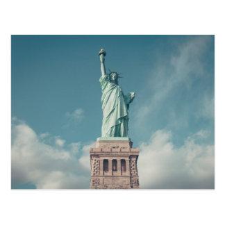 Statue der Freiheit Postkarte