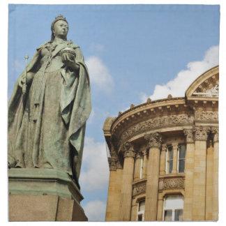 Statue der Königin Victoria in Birmingham, England Serviette
