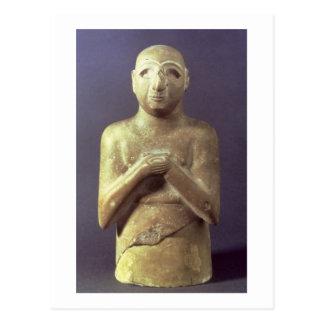 Statue des Gottes Utu, Mesopotamier, c.2400 BC (Li Postkarte