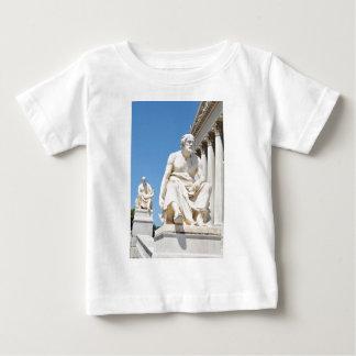 Statue des griechischen Philosophen Baby T-shirt