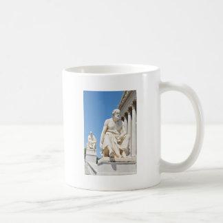 Statue des griechischen Philosophen Kaffeetasse