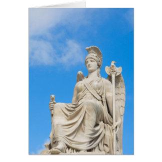 Statue einer Königin Karte