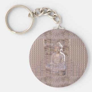 Statue-Idol-Frieden Buddhas buddhistischer Schlüsselanhänger
