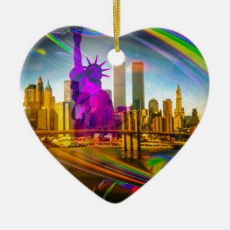 Statue of Liberty New York Keramik Ornament