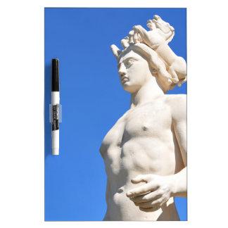 Statue von Apollo (Neptun) Trockenlöschtafel