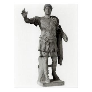 Statue von Hadrian (Marmor Postkarte