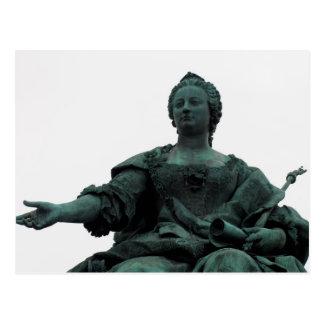 Statue von Maria Theresia Postkarte