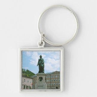 Statue von Mozart in Salzburg Schlüsselanhänger