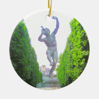 Statue von Pan, Luxemburg arbeiten, Paris Keramik Ornament