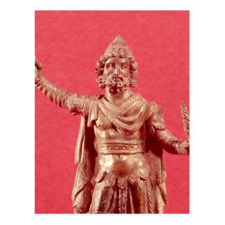Statuette von Jupiter Dolichenus Postkarte
