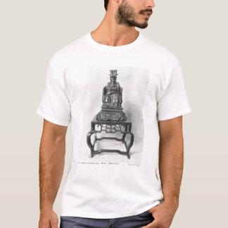 Statuette von Konfuzius als Mandarine, Qing T-Shirt