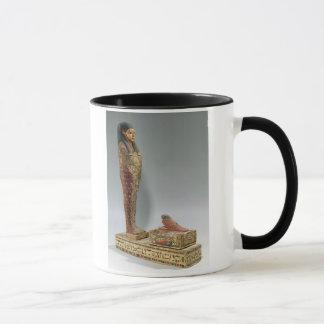 Statuette von Osiris von Iahmes (gemaltes Holz) Tasse
