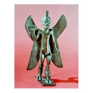 Statuette von Pazuzu, ein Assyrian Winddämon Postkarte