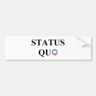 STATUS QUO AUTOAUFKLEBER