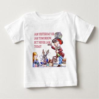 Stau gestern oder Stau morgen, aber stauen nie Baby T-shirt